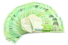 Korea Money Stock Photo
