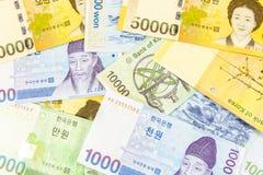 Korea money Royalty Free Stock Image