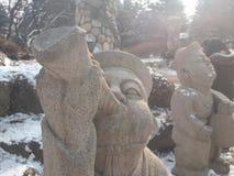 korea nami island Stock Image