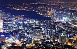 Korea night Stock Photo