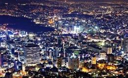 Korea night Royalty Free Stock Photos
