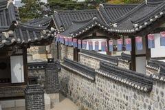 Free Korea Old House At Namsangol Hanok Village In Seoul South Korea. Stock Image - 79926361