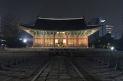 Korea palace Stock Image