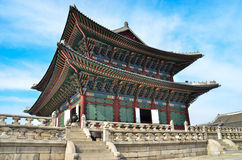 Korea palace Royalty Free Stock Photography