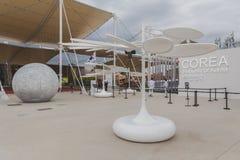 Korea pavilion at Expo 2105 in Milan, Italy Stock Photos