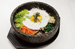 korea rice Arkivfoton