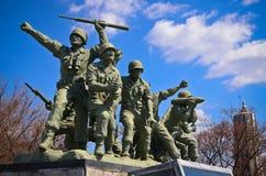 Korea sammanslagning parkerar Royaltyfria Foton