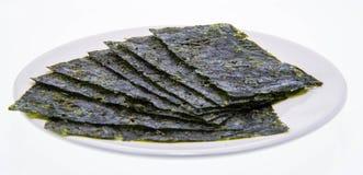 Korea seaweed, korea food Royalty Free Stock Photo