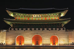 Korea Seoul Gwanghwamun Gate royalty free stock photos