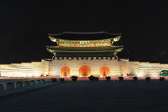 Korea Seoul Gwanghwamun Gate royalty free stock image