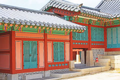 Korea Seoul Gyeongbokgung Palace Royalty Free Stock Photo