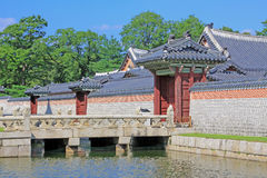 Korea Seoul Gyeongbokgung Palace Royalty Free Stock Photography