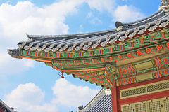 Korea Seoul Gyeongbokgung Palace stock photos