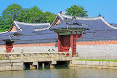 Korea Seoul Gyeongbokgung Palace Royalty Free Stock Images