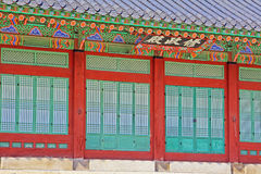 Korea Seoul Gyeongbokgung Palace Stock Photo