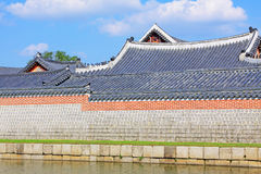 Korea Seoul Gyeongbokgung Palace Stock Photography
