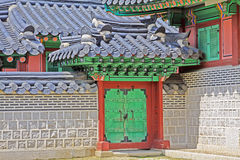 Korea Seoul Gyeongbokgung Palace, Donggung Royalty Free Stock Photo