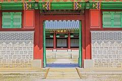 Korea Seoul Gyeongbokgung Palace, Donggung royalty free stock image