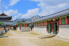 Korea Seoul Gyeongbokgung Palace, Donggung Stock Photo