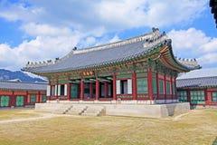 Korea Seoul Gyeongbokgung Palace, Donggung royalty free stock images