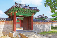 Korea Seoul Gyeongbokgung Palace, Donggung stock photography