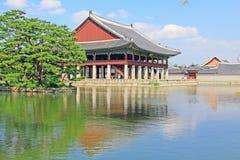 Korea Seoul Gyeongbokgung Palace, Gyeonghoeru Stock Image