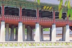 Korea Seoul Gyeongbokgung Palace, Gyeonghoeru royalty free stock images