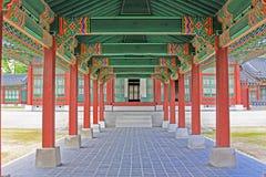 Korea Seoul Gyeongbokgung Palace, Taewonjeon. Gyeongbokgung Palace built in 1395, was the main royal palace of the Joseon dynasty. Taewonjeon Shrine, is an royalty free stock photography