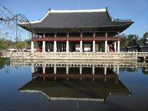 Korea Seoul: Kings palace Royalty Free Stock Photo