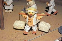 Korea Seoul Teddy Bear Museum lizenzfreie stockbilder