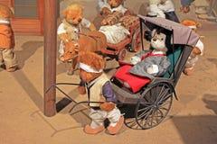 Korea Seoul Teddy Bear Museum lizenzfreie stockfotografie