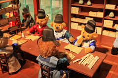 Korea Seoul Teddy Bear Museum Royalty Free Stock Photos