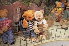 Korea Seoul Teddy Bear Museum royalty free stock photo