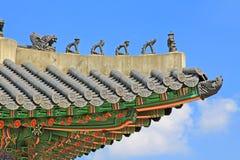 Korea Seul Gyeongbokgung pałac obraz royalty free