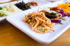 Koreański jedzenie Zdjęcia Stock