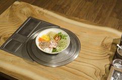 Koreański krajowy jedzenie. Zdjęcia Stock