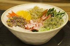 Koreański krajowy jedzenie. Zdjęcia Royalty Free