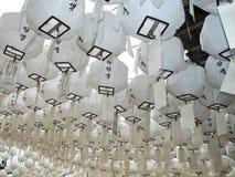 koreański lampion Zdjęcie Royalty Free