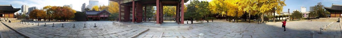 Korea slott Arkivbilder
