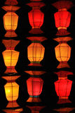 Korea style lantern Stock Photography