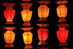 Korea style lantern Stock Images