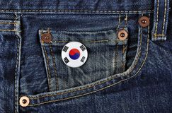 Korea Supporter. Stock Images