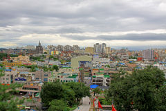Korea Suwon City cityscape Royalty Free Stock Photos