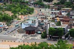 Korea Suwon City cityscape Royalty Free Stock Images
