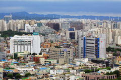 Korea Suwon City cityscape Royalty Free Stock Image