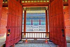 Korea tradition building Stock Photo