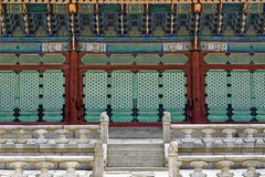 Korea tradition building Stock Images
