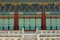 Korea tradition building Royalty Free Stock Photo