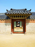Korea tradition gate. Royalty Free Stock Photography