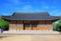 Korea Traditional Folk House Royalty Free Stock Photos